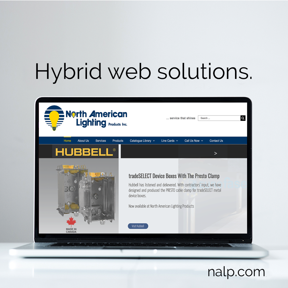 hybrid web design solutions marketing services and website design